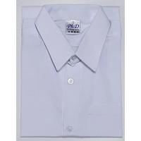 PhD White Short Sleeves School Uniform