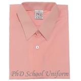 Size 9-19 PhD Peach Shirt Short Sleeve School Uniform | Baju Sekolah Seragam Lengan Pendek Pic