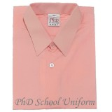Size15-20 PhD Peach Short Sleeves School Uniform | Baju Sekolah Lengan Pendek Pic