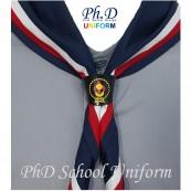 PhD Scout PVC Woggle With Color Printed Cover w Epoxy | Cetakan Logo Pengakap Berwarna Yang Tahan