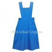 Waist 32 Length 38,40,42 Bib 14,14.5,15,15.5 PhD School Uniform Secondary Dress Pinafore|Baju Sekolah Menengah Perempuan