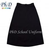 Waist 35 & 36 Length 25,26,27  PhD BLACK Short Skirt School Uniform | Skirt Pendek HITAM Seragam Sekolah Perempuan