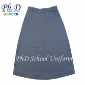 Waist 29 & 30 Length 23, 24, 25  PhD GREY Short Skirt School Uniform | Skirt Pendek KELABU Seragam Sekolah Perempuan