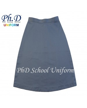 Waist 37, 38, 39, 40, 41 & 42  PhD GREY Short Skirt School Uniform | Skirt Pendek KELABU (TEMPAHAN SHJ / CUSTOM MADE)