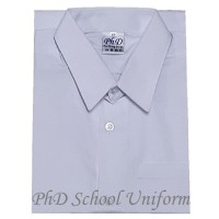 PhD White Short Sleeves Shirt
