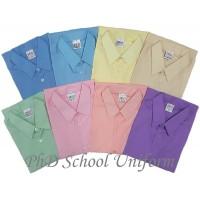 PhD Color Short Sleeves School Uniform